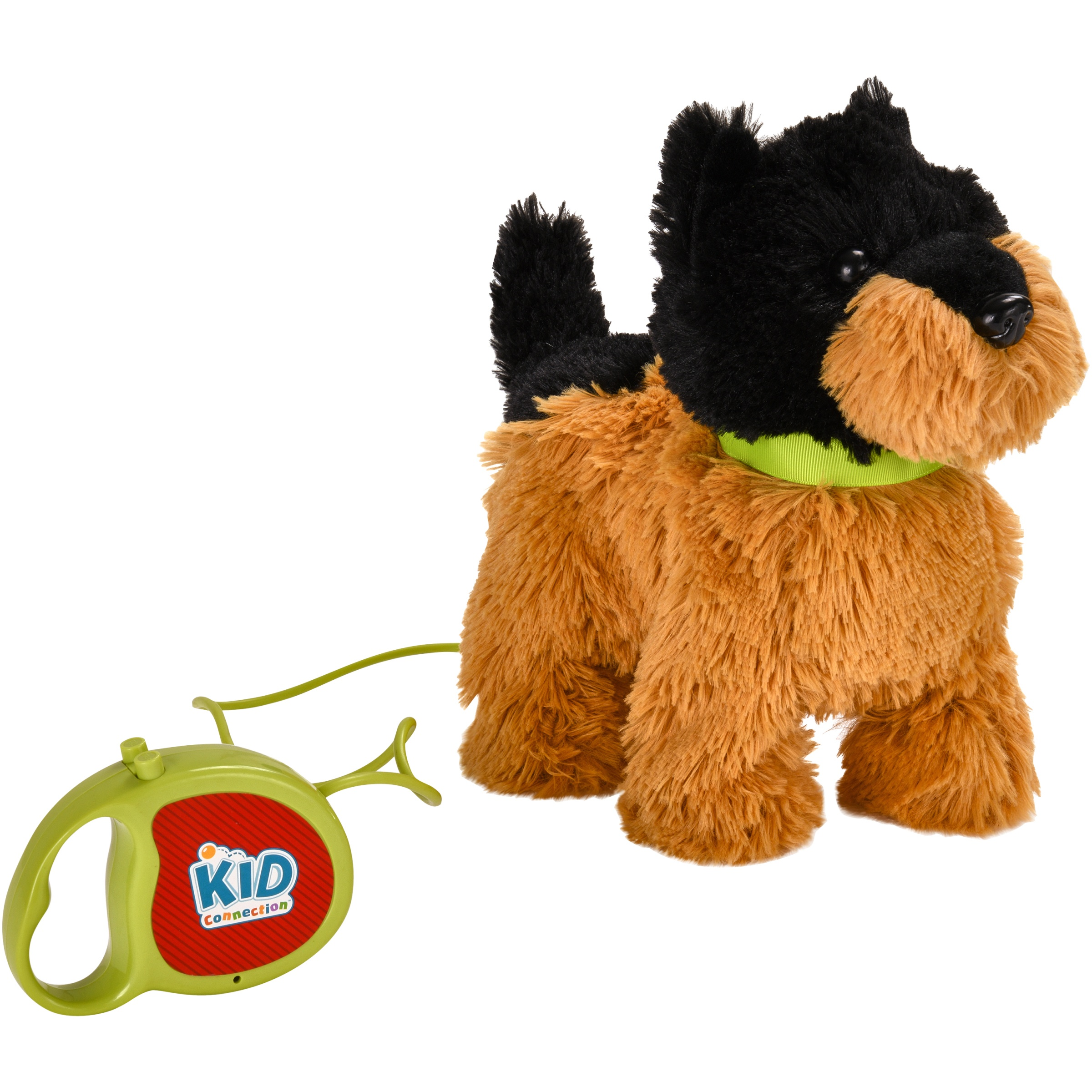 "Kid Connection 9"" Plush Yorkie Walking Pet, Brown & Black"