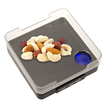- Digital Pocket Scale LCD Display Tare Function 0.1g Accuracy Oz Grams