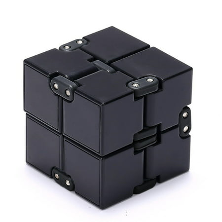 Infinity Cube, Magic Cube for Kids and Adults, Mini Gadget Spinner Fidget Toy Fidget Cube, Better for Stress and Anxiety Relief and Kill Time,