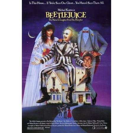 Halloween 1988 (Beetlejuice (1988) 11x17 Movie)