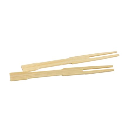 Helen Chen's Asian Kitchen Mini Bamboo Appetizer Cocktail Forks and Buffet Party Fruit Picks, 3.5-Inches, 72-Pieces - Ideas For Halloween Party Appetizers