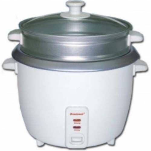 Brentwood 5 Cup Rice Cooker With Steamer White - White (ts600s)