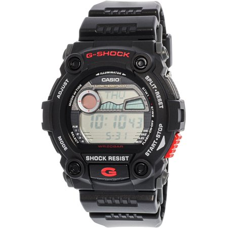 f6e60d2b8e9de Casio - Mens G-Shock Rescue Stainless Watch - Black Rubber Strap - Black  Dial - G7900-1 - Walmart.com