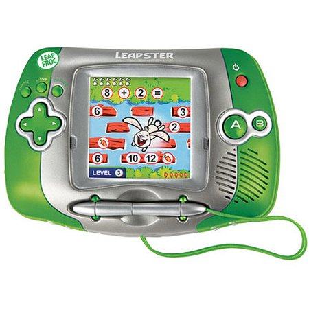 Aimed at 4- to year-olds, the 6-byinch Leapster is sized for little hands and comfortably shaped with safe, rounded edges. The /4-inch touch screen is ample for most of the gaming activities; although a little cluttered when used for the art and drawing modules/5().