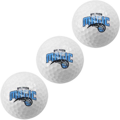 Orlando Magic McArthur 3-Pack Golf Balls - No Size