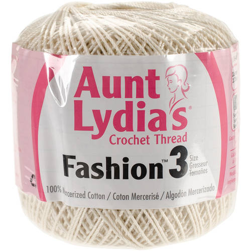 Aunt Lydia's Fashion Crochet Cotton
