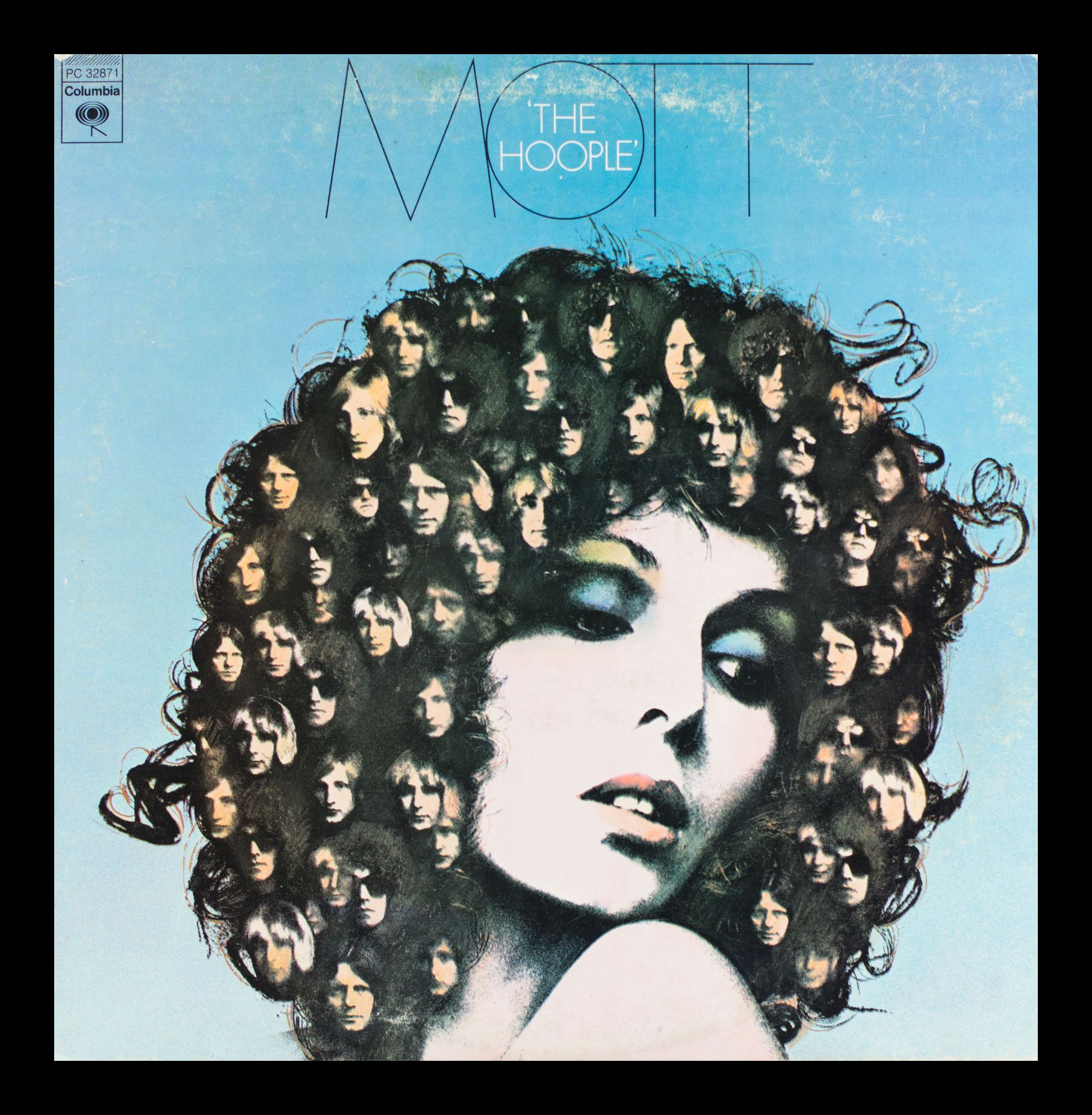 Mott The Hoople Vintage Album in Frame