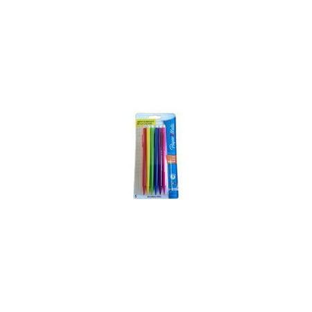 (4 Pack) Paper Mate Sharpwriter Mechanical Pencil, HB, 0.7mm, Assorted Color Barrels, 6 Pack](Cute Mechanical Pencils)