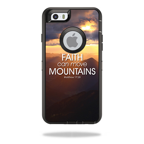 Skin For OtterBox Defender iPhone 6 – Move Mountains | MightySkins Protective, Durable, and Unique Vinyl Decal wrap cover | Easy To Apply, Remove, and Change Styles | Made in the USA