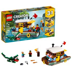 LEGO Creator 3in1 Riverside Houseboat 31093 Building Set