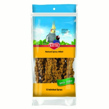 Millet Bird - Kaytee Natural Spray Millet Bird Treats, 12 Ct