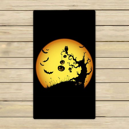 ZKGK Happy Halloween Hand Towel Bath Towels Beach Towel For Home Outdoor Travel Use Size 16x28 Inches