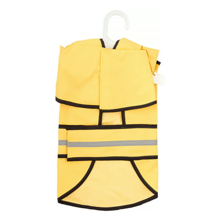 Ethical Pet Fashion Lookin' Good Rainy Days Slicker Dog Raincoat, Medium, Yellow Ethical Pet Fashion