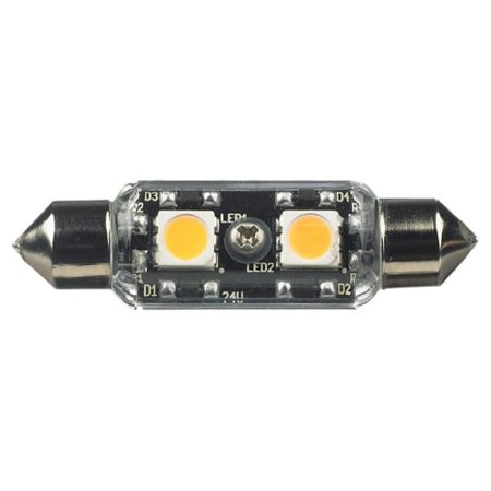 Image of Ambiance Lighting Systems 96117S Single Lx LED Festoons 24V Bulb 2700K