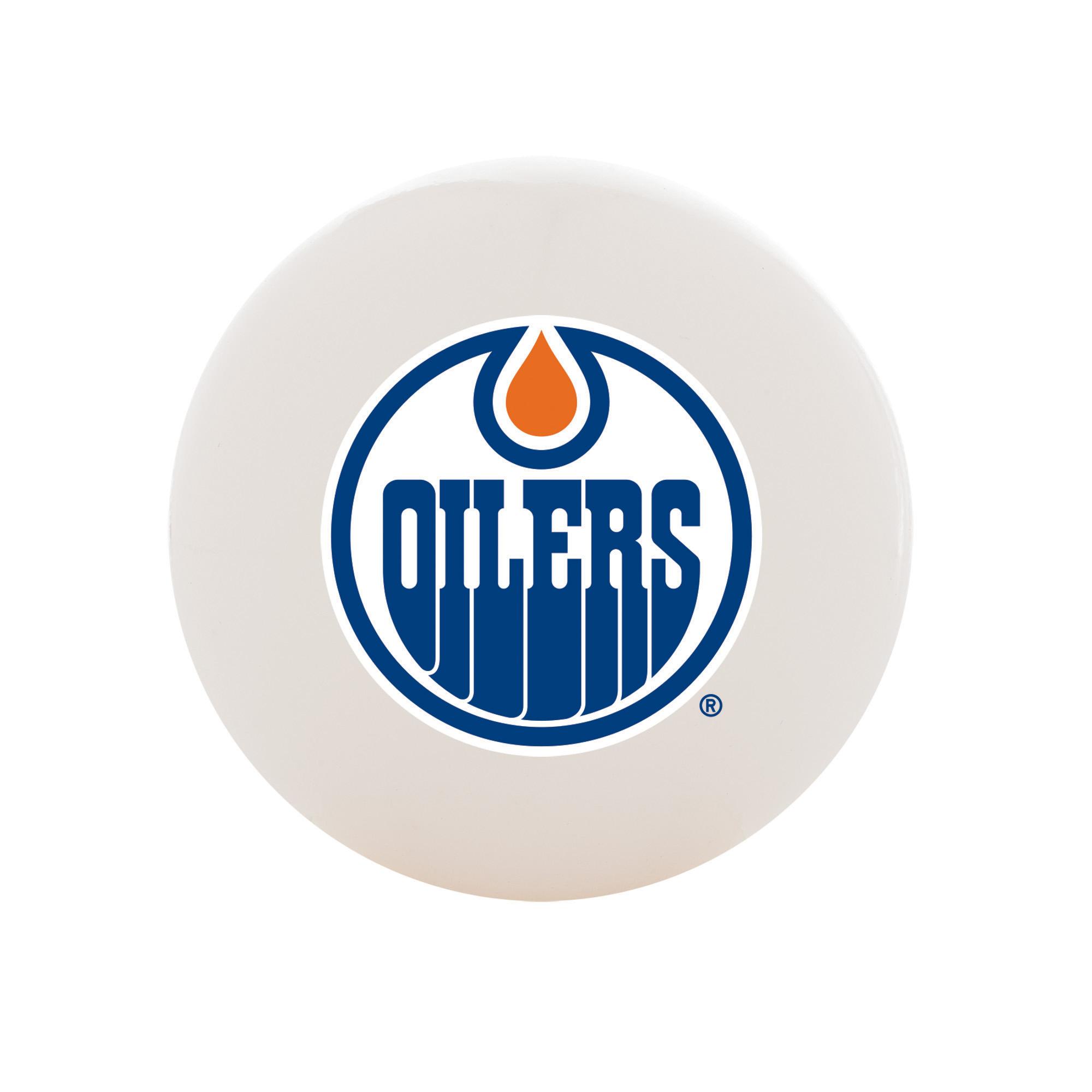 Franklin Sports NHL Edmonton Oilers Street Hockey Ball