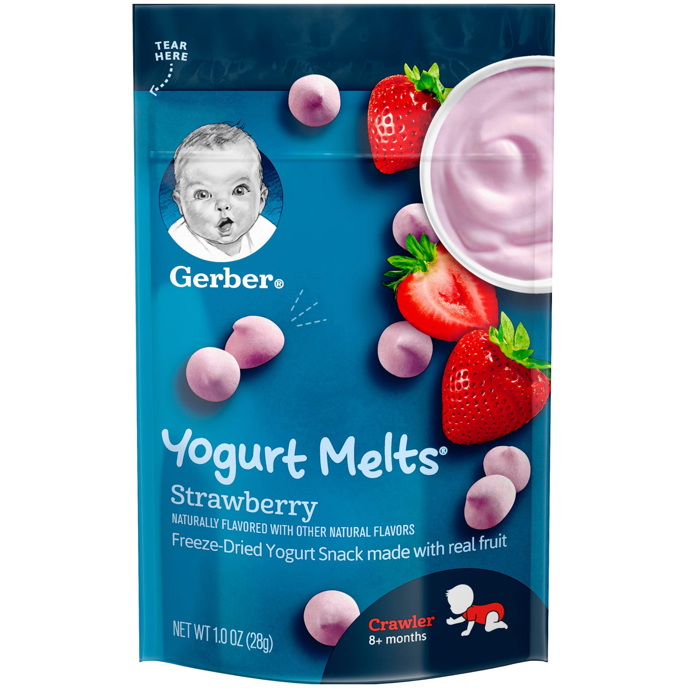 Gerber Yogurt Melts, Strawberry, 1 oz.