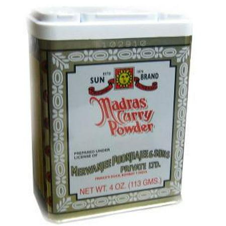 Madras Curry Powder (SunBrand) 4oz (113g)