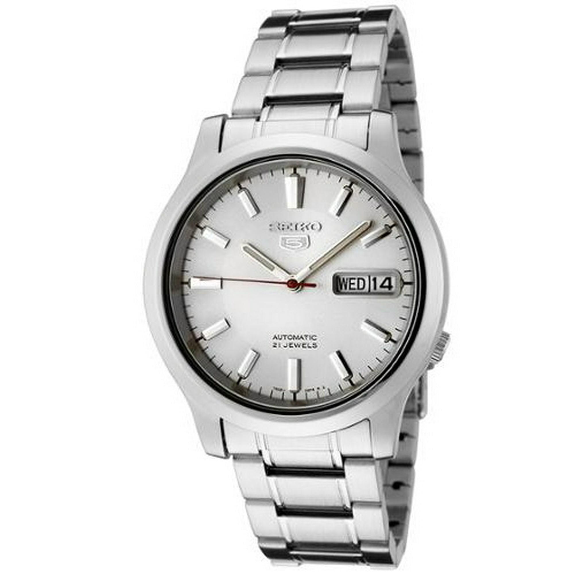 ed5f80df397 Buy Seiko Seiko 5 Automatic White Dial Mens Watch SNK789