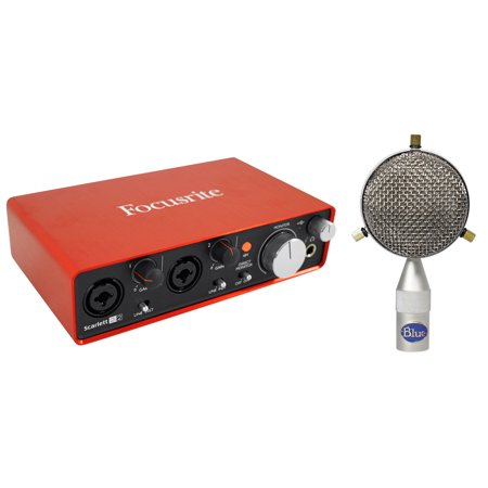 Blue Microphone Cardioid Large Omni Capsule B5 Capsule+Focusrite 2I2 Interface