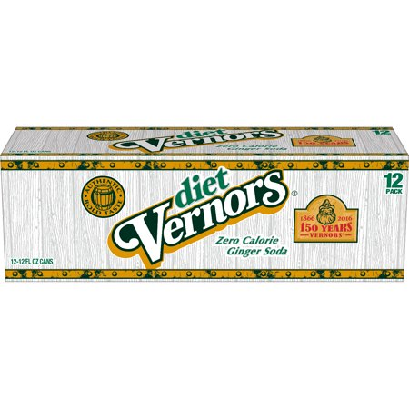 Vernors Ginger Ale Diet Soda, 12 Fl. Oz., 12 Count