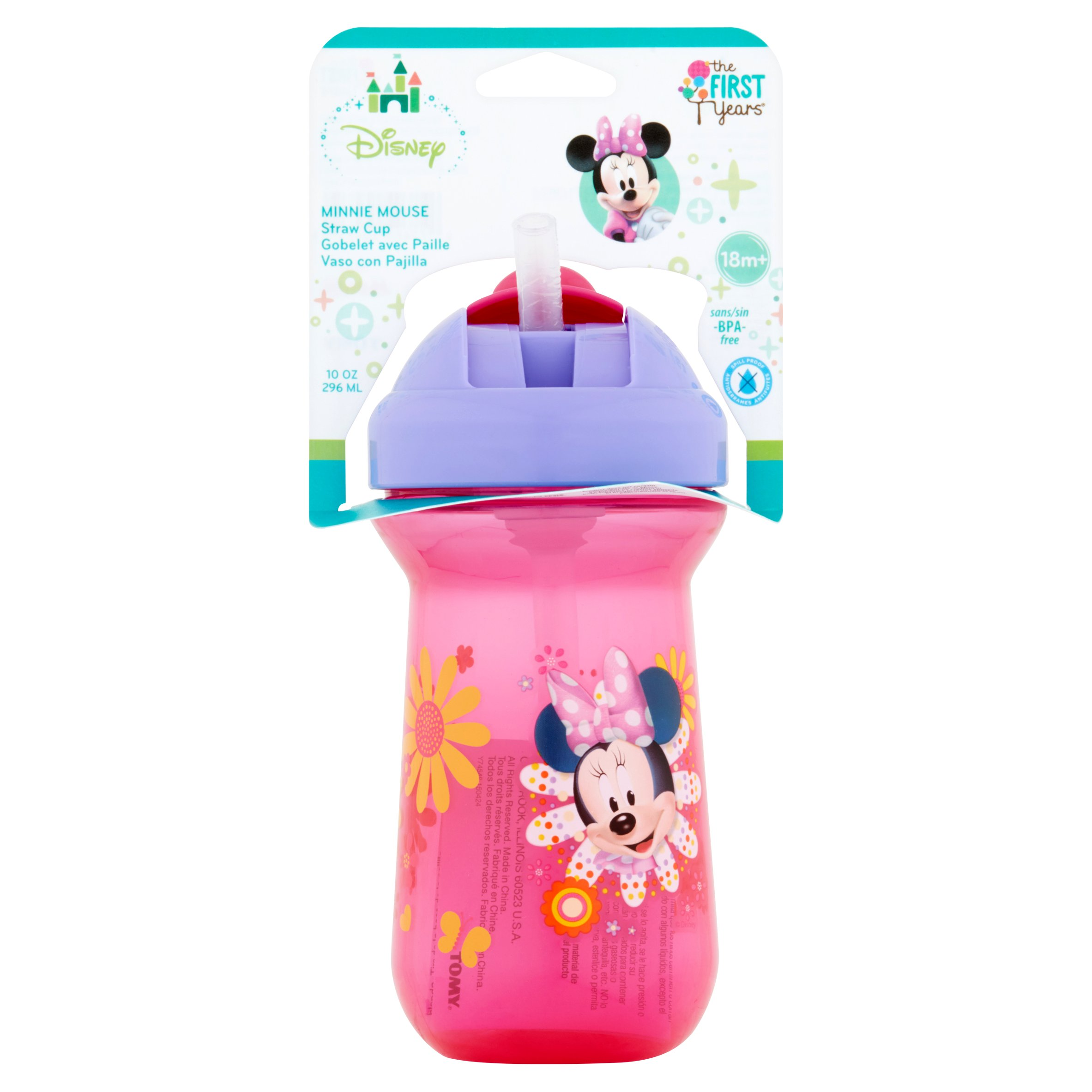 The First Years Disney Minnie Mouse Straw Cup 10oz