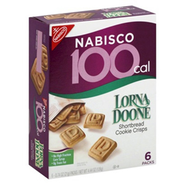 Lorna Doone Shortbread 100 Calorie Snack Portions Pack of 24 by