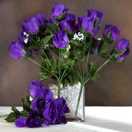 balsacircle 84 silk buds roses bouquets diy home wedding party artificial flowers arrangements. Black Bedroom Furniture Sets. Home Design Ideas