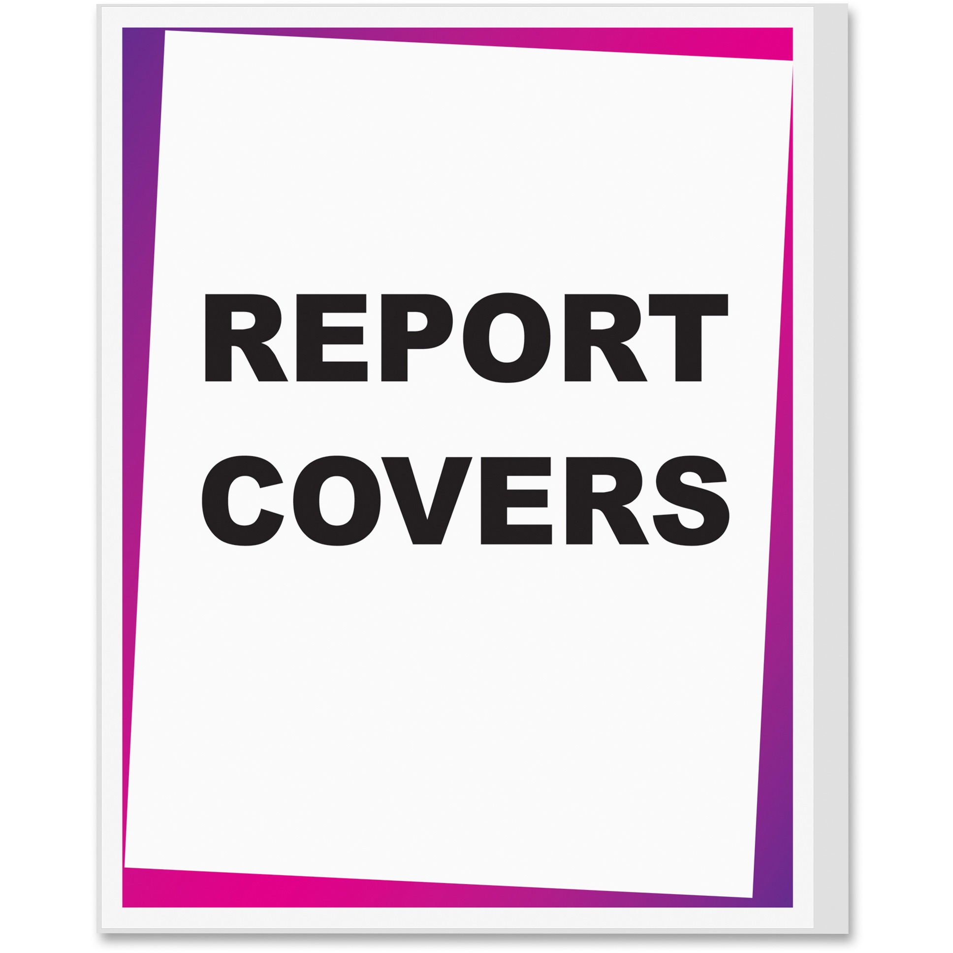 C-Line Report Covers, Economy Vinyl, Clear, 8 1 2 x 11, 100 BX by C-LINE PRODUCTS, INC