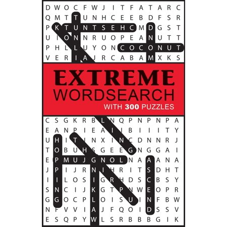 Extreme Word Search: With 300 Puzzles (Paperback) - French Word Search For Halloween