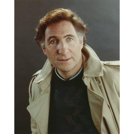 Judd Hirsch wearing a Brown Jacket in a Close Up Portrait Photo (Hirsch Photo)