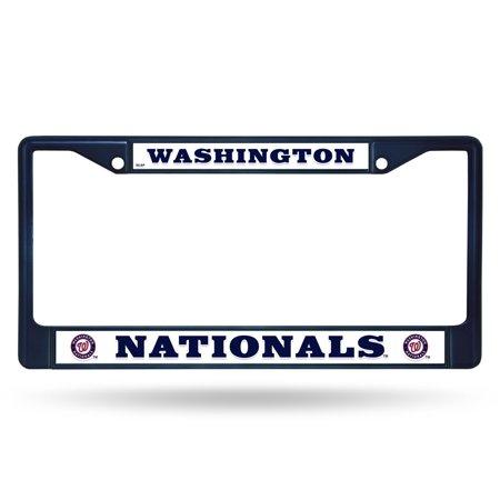 Washington Nationals NAVY COLORED Chrome Frame - image 1 of 1