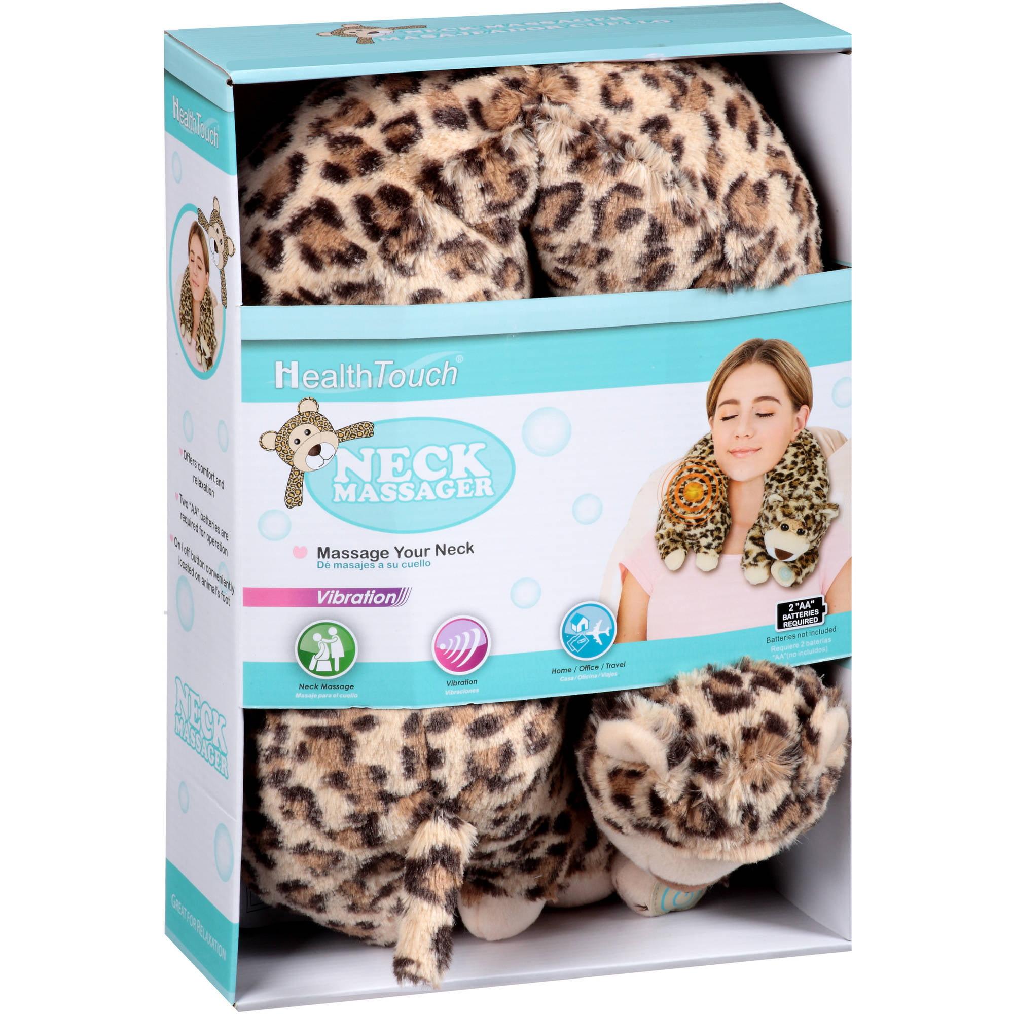Health Touch Neck Massager, Leopard