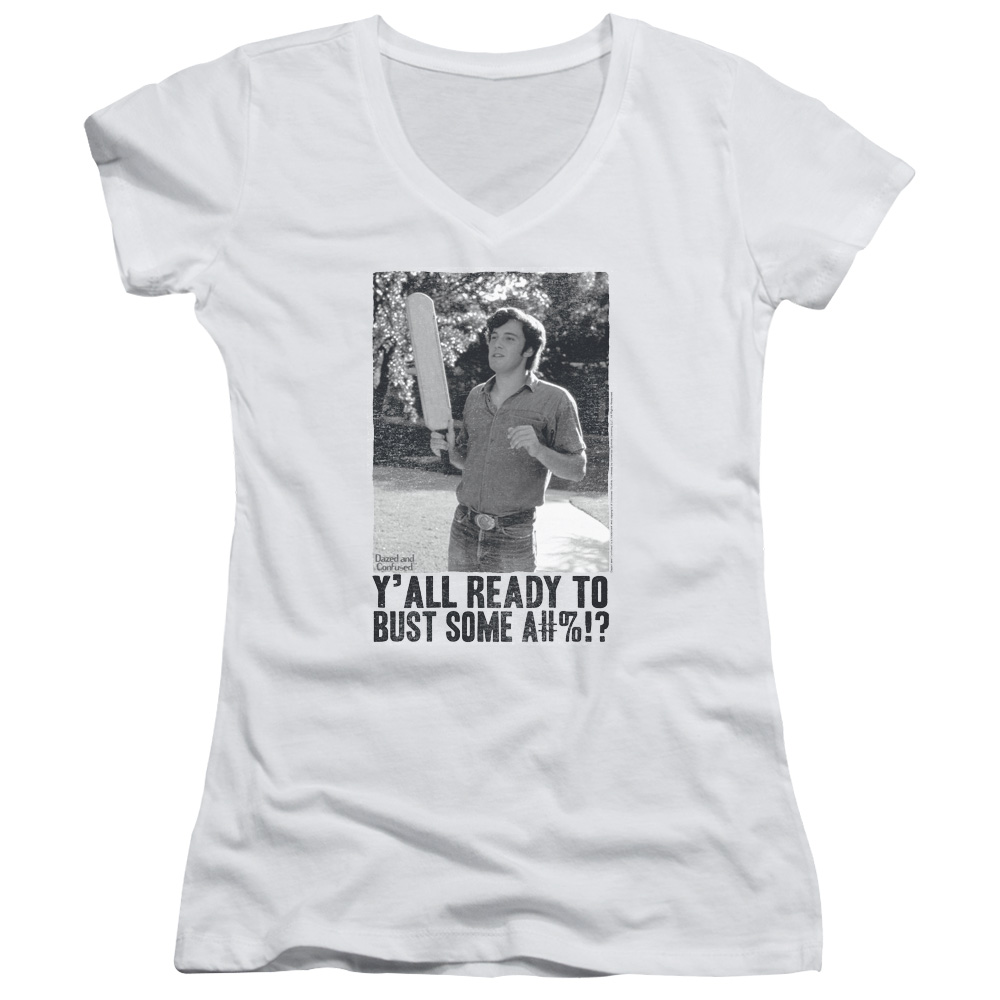 Dazed And Confused Paddle Juniors V-Neck Shirt