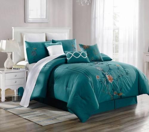 Brenda 10 Cal King 3 Piece Premium Ultra Soft Duvet Cover Bedding
