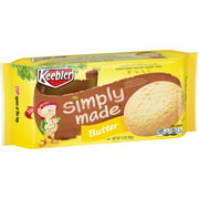 Keebler Simply Made Butter Snack Cookies 10 oz tray