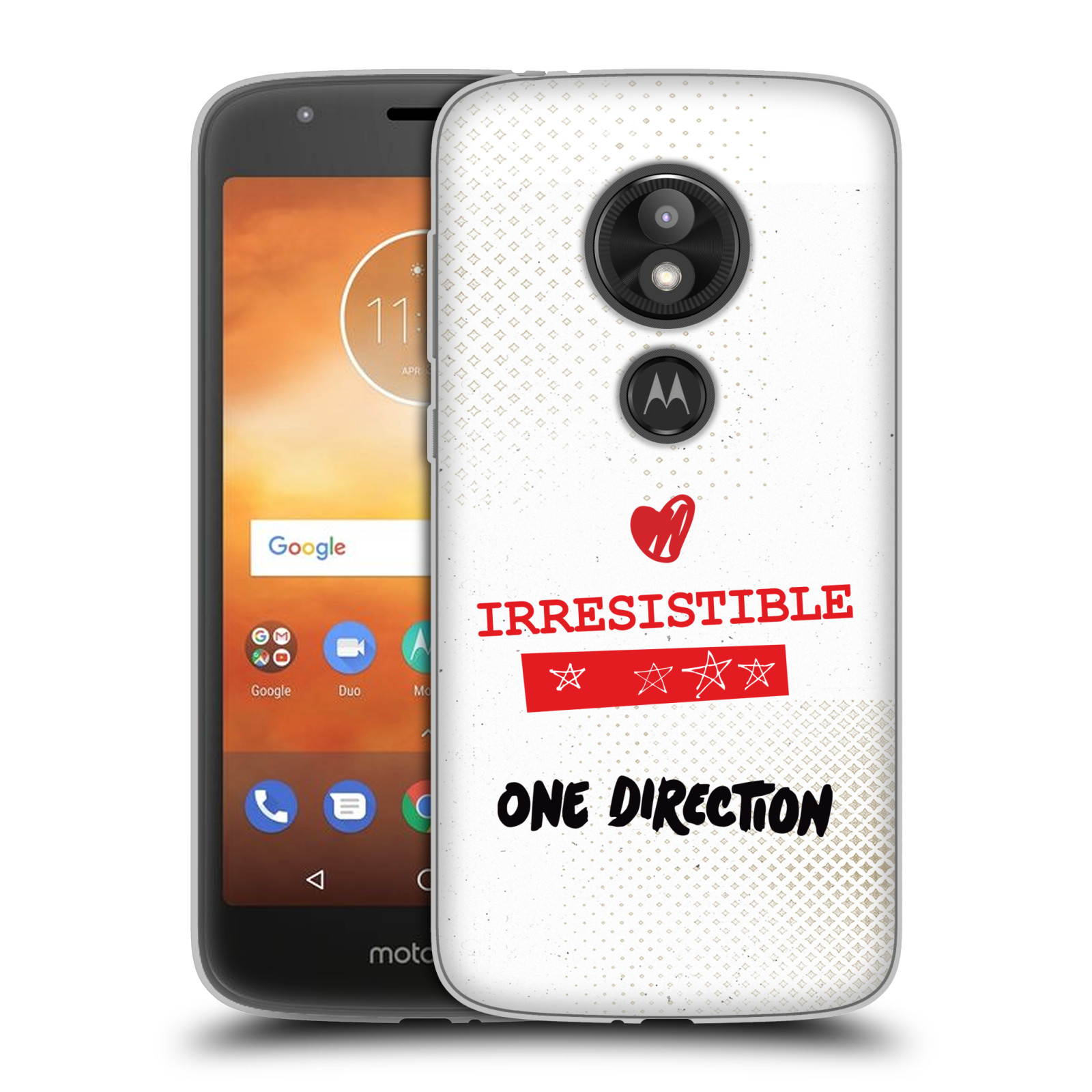 OFFICIAL ONE DIRECTION HOME SOFT GEL CASE FOR MOTOROLA PHONES