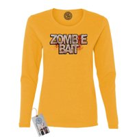 Walking Dead Zombie Bait TV Show Womens Long Sleeve Shirt