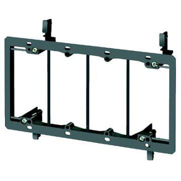 iMBAPrice® 4 Gang Low Voltage Wallplate Mounting Bracket - - Gang Mounting Wall Bracket