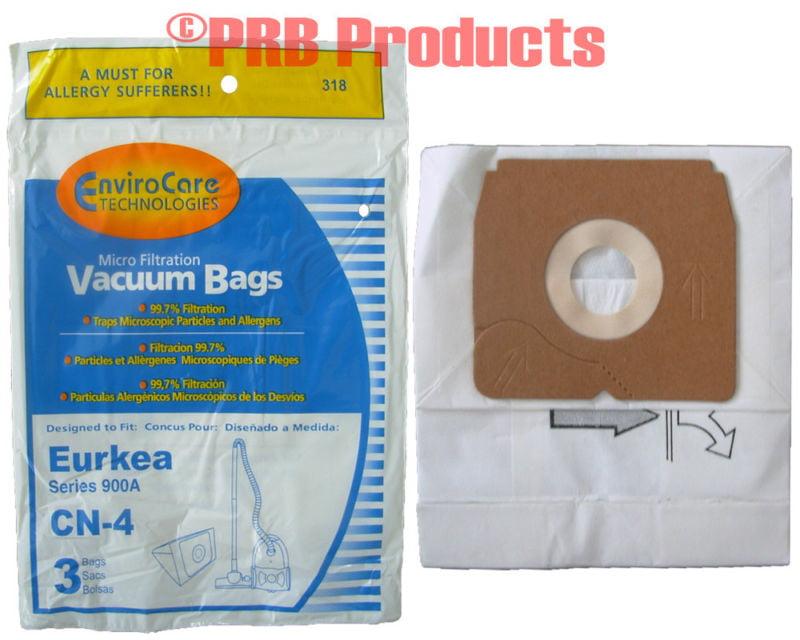 18 Vacuum Bags for Eureka 68937 68937-6