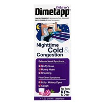 Cold & Flu: Children's Dimetapp Nighttime Cold & Congestion Liquid