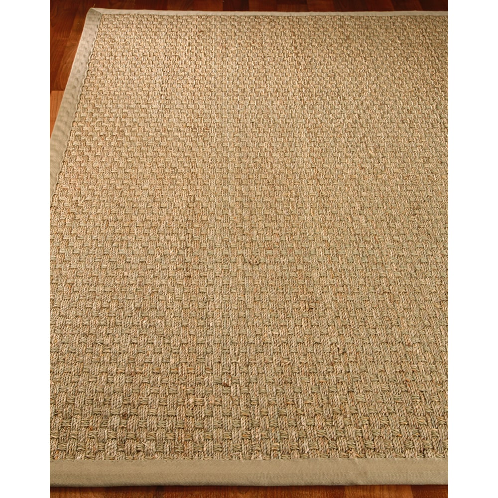 Natural Area Rugs Lancaster Sage Seagrass Rug (6' x 9')