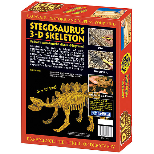 DIG! and DISCOVER: 3D Stegosaurus