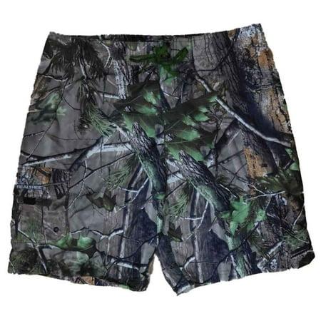 a5c3bcbe35 Realtree - Realtree Mens APG HD Camouflage Board Shorts Swim Trunks -  Walmart.com