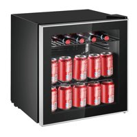 Frigidaire 70 Can Beverage Refrigerator, (EFMIS164-CU) Black