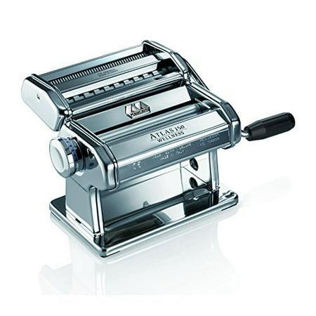 Marcato Atlas 150 Pasta Machine - Marcato Atlas Wellness 150 Pasta Maker, Stainless Steel