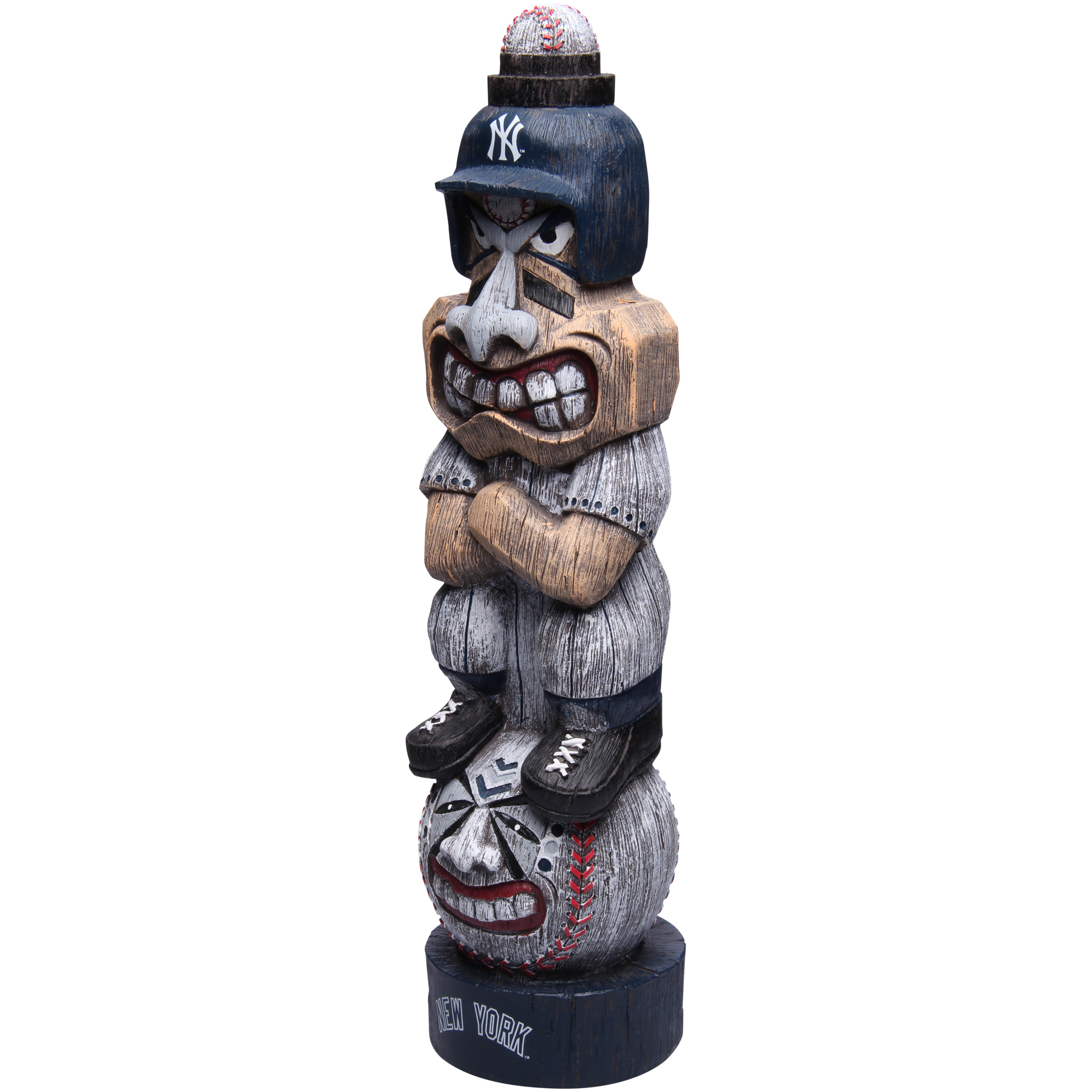 """Forever Collectibles New York Yankees 17"""" Tiki Figurine - No Size"""