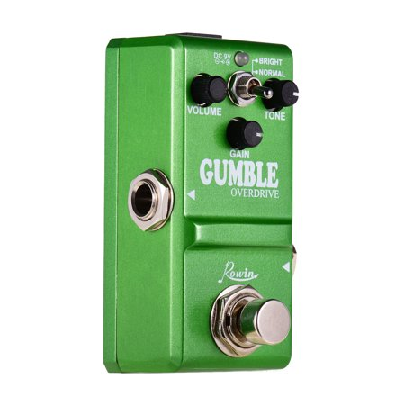 Rowin LN-315 Dumble Pedal Gumble Guitar Effect Pedal Round and Smooth Overdrive Effect Pedal for Electric Guitar - image 6 of 7