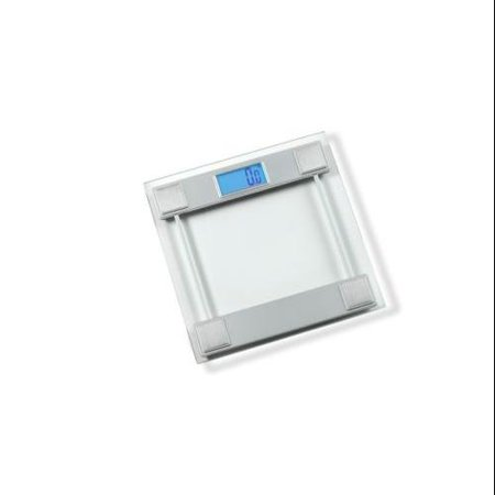 digital bath scale silver
