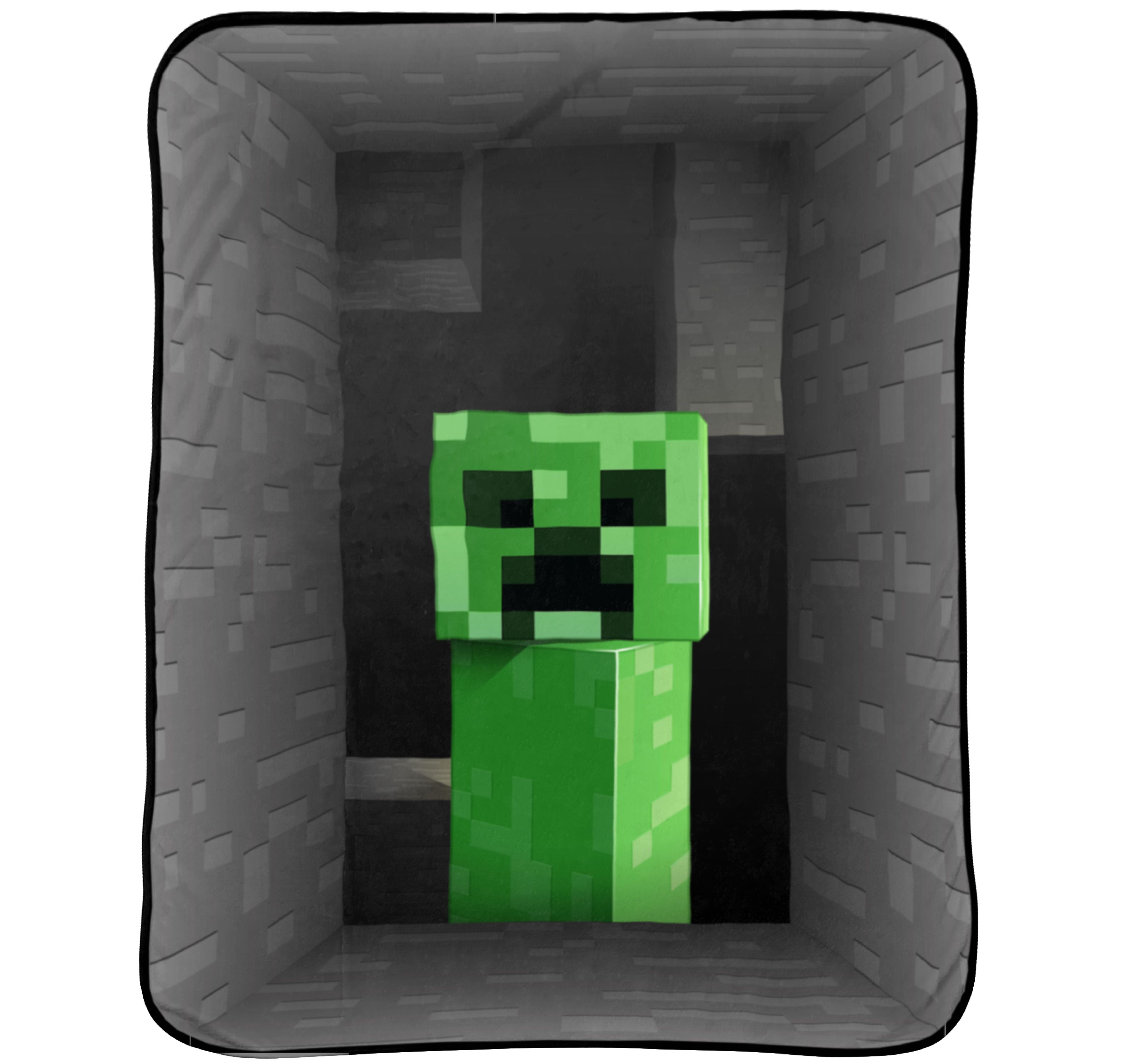"Minecraft 62"" x 90"" Plush Blanket, Kid's Bedding"