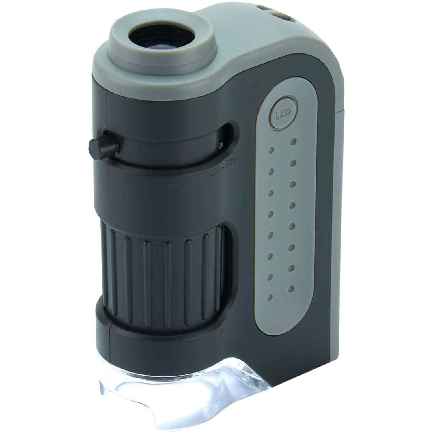 Carson MM-300 Microbrite Plus 60x - 120x LED Pocket Microscope